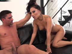 Slender asian Asa Akira getting her anal fix