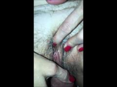 Grandma Getting Her Pussy Penetrated