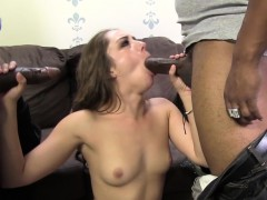 first time black dick porn