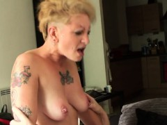 Inked Uk Skank Railed Rough In Ass By Maledom