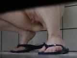 My breanne cougar in the shower Georgeanna