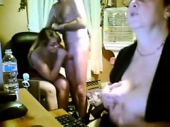 spanish-youthfull-and-old-three-way-in-kitchen-webcam