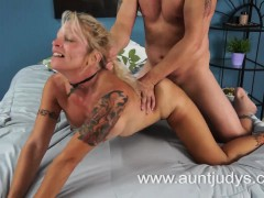 Mature Blonde And Her Young Lover Nydia
