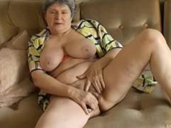 Omapass Extremely Old Granny Masturbation