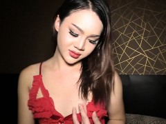 Amateur Ladyboy With A Pretty Face Blowjob And Anal Sex