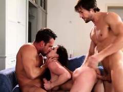 Kendra Lust Hammered Hard in Threesome Sex