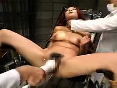 Bodacious Japanese Nympho Gets Tied Up And Pumped Full Of H
