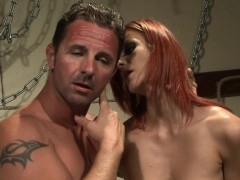 Redhead Sub Babe Fucked Roughly By Maledom