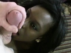 Black teen gets facial
