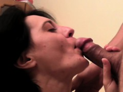 european milf with small tits is ready for banging