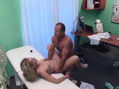Tight Cunt Blonde Patient Bangs In Hospital