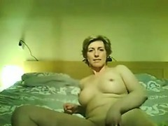 Woman Does A Striptease