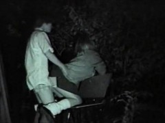 western-teenagers-with-audio-in-playground-nightvision