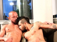 Muscular Black Hunk Cocksucked By Mohawk Stud