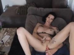 Ts Morgan Bailey Enjoys Fucking Herself