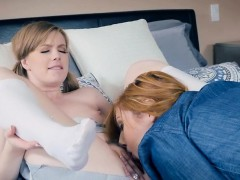 Husband Catches Hot Wife With Their Hot Maid