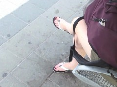 Close Up Foot Fetish On Cam