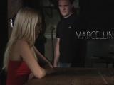 BDSM Bondage Teen punished spanking fetish candle wax