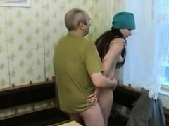Horny Brunette Teen With Cute Small