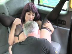 ebony-redhead-bang-pussy-in-taxi