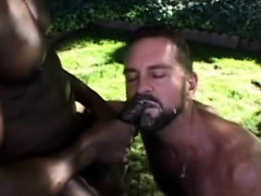 Black Masseur Facializes