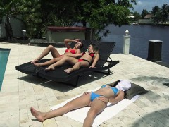 Hot Fun In The Summer With A Bunch Of Horny Girls