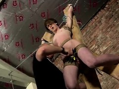 Boy Teen Bondage Gay Porn Another Sensitive Cock Drained