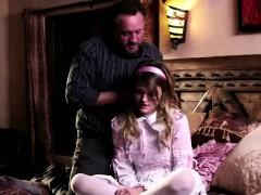 Alec Knight Fucks Cute Brunette Stepdaughter Scarlett Fever