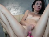 Squirt Tiny Tits Brunette Makes Everything Wet