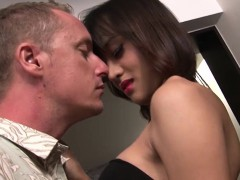 Asian Lady Gets Her Asshole Drilled