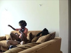 Sexy Black Girl Riding Big Dick