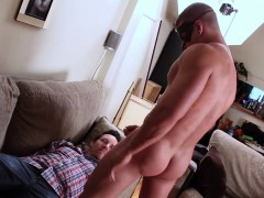 Masturbate In Front Of A Handcuffed Man