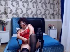 Sexy Mature Dance Undress And Masturbate