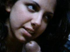 indian girlfriend sucking poking boyfriend massive penis