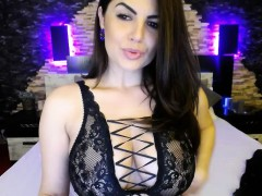Big Titty Babe Layla Rose Solo Dildo Masturbation
