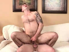 Ruttish Gay Guy Licked That Ass Good Before He Stuffed It