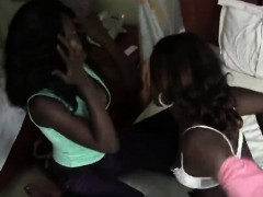 African Lesbians Meganand Veronica Are Horny And Ready For