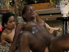 african sluts sharing monster white schlong in threeway