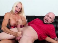 Hot Blonde Milf Dani Dani Is Horny As Fuck And Dom Isn't