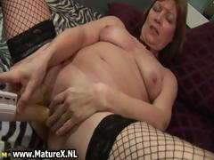 Horny Experienced Lady Spreads Part1