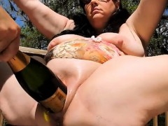 Double Fisting And Champagne Bottle Penetrations