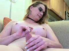 Amateur Spex Tgirl Jerking Off Until Cum