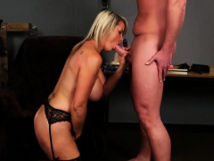 Hot Model Gets Cumshot On Her Face Sucking All The Sperm94vw