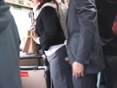 Japanese Sexual Harassment On Bus Pt1- More On Hdmilfcam.com