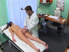 Doggystyled Babe Enjoys Doctors Examination