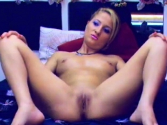 Nude Blonde Feeling Horny