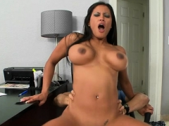 Boss Honey Gets Her Feet Licked And Rides A Hard Dick