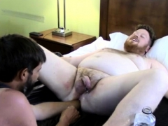 Gay College Hardcore Sex Sky Works Brock's Hole With His