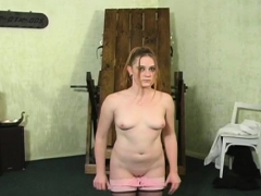 Older Wench Gets Spanked Hardcore Style By A Younger Chap