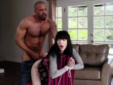 Anal high stocking and spanking with amateur There is a